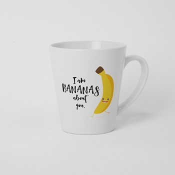 Skodelica Iam bananans about you