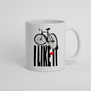 Skodelica I like it bike
