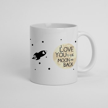 Skodelica I love you to the moon and back 01
