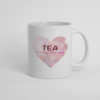 Skodelica Tea is a hug in a mug