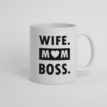 Skodelica Wife mom boss